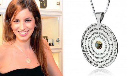 Mystical Kabbalah Jewelry: The Seventy-Two Names Pendant