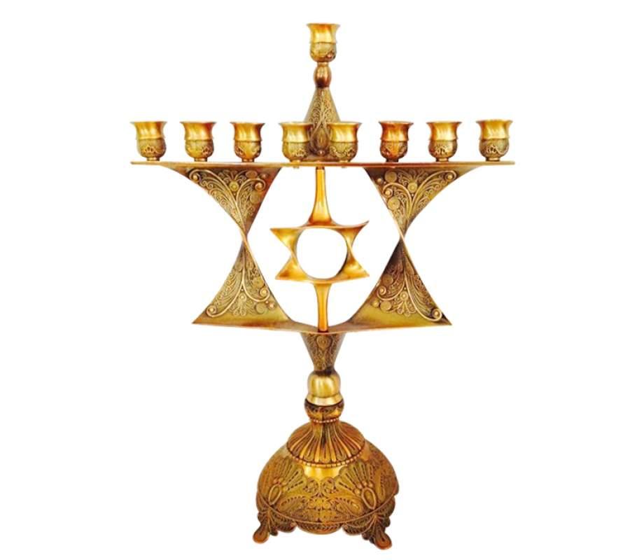 Star-of-David-Menorah
