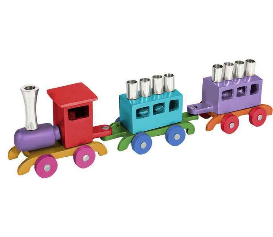 Train-Menorah